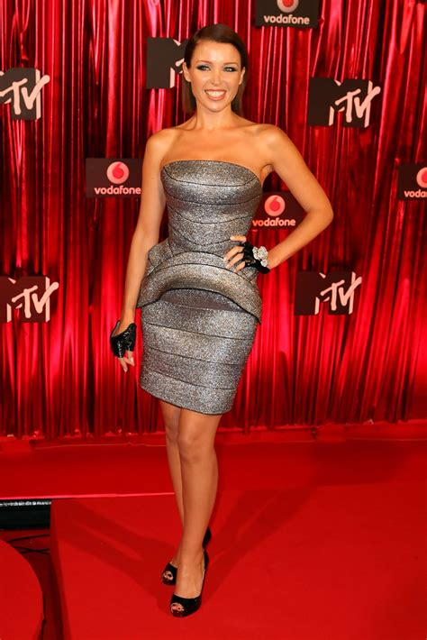 Dannii Minogue in Celebrities Attend The Australian MTV