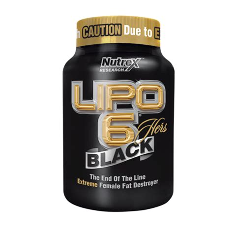 Nutrex Lipo 6 Black Hers Fat- Burner, Weight Loss For Her