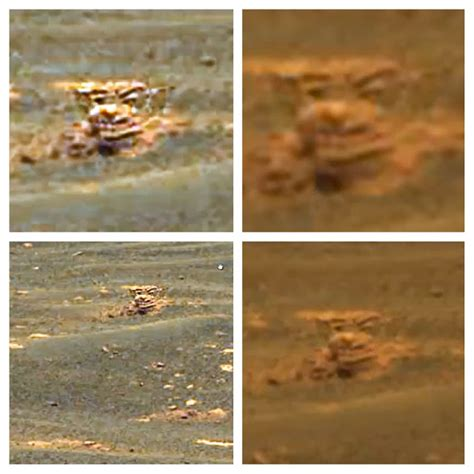 the gipster: New Face On Mars Found, Alien Base On The