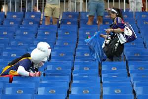 World Cup: Japan Fans, Players And Staff Once Again Do