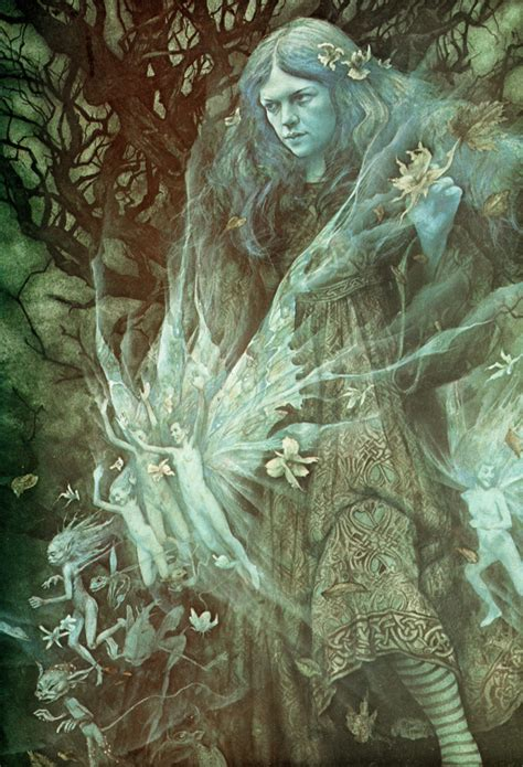 The Faerie Realm: Brian & Wendy Froud - Essays on Mythic