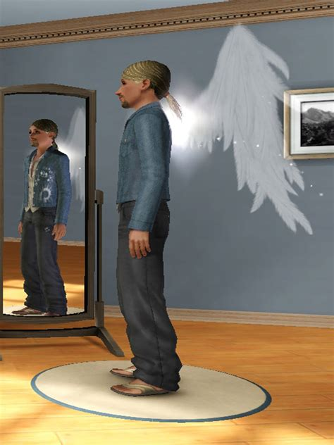 Mod The Sims - Default Replacement Angel Wings