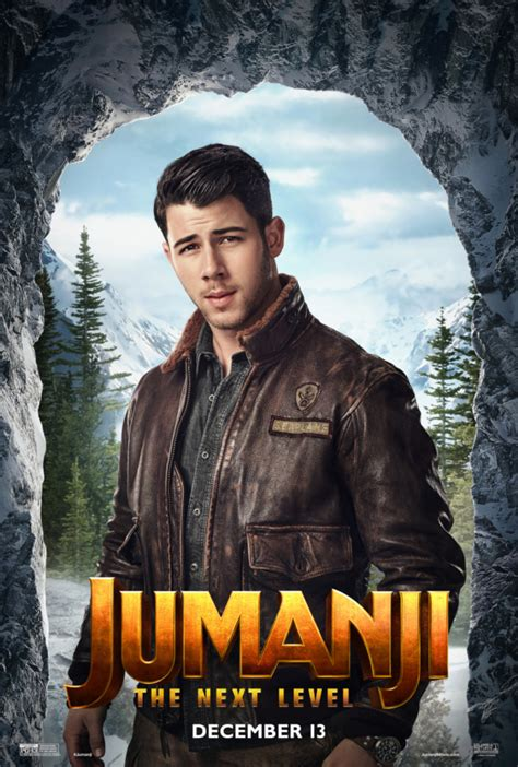 Jumanji: The Next Level character posters welcomes