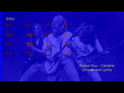 Status Quo - Looking Out For Caroline Chords - Chordify