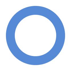 Blue circle for diabetes