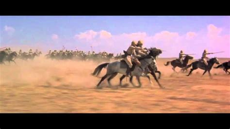 Young Winston - British cavalry charge at Omdurman - YouTube