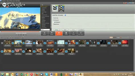 Making a Christmas Slideshow with Movavi Video Suite 14