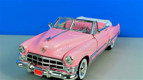 1949 Elvis Presley Pink Cadillac Coupe Deville 1/18 by