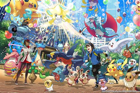 Pokémon Go celebrates third anniversary with tons of in