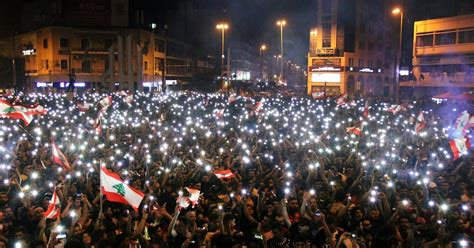'The Revolution Is Lit': Jubilant Lebanon Uprising Fueled
