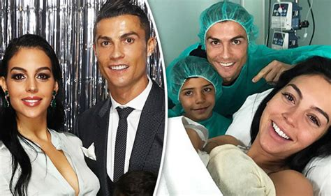 Cristiano Ronaldo welcomes baby girl into the world with