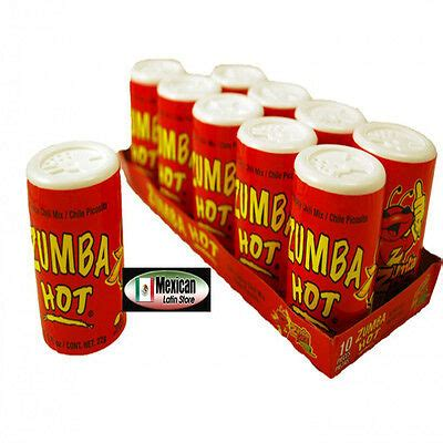 Zumba Pica hot hot'n spicy chili mix 10ps in box 7