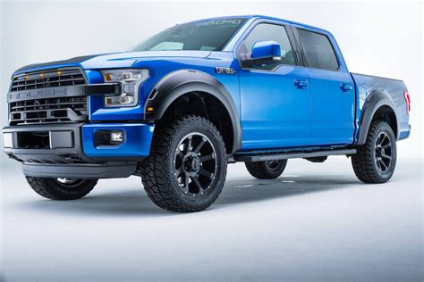 Check Out This Blue Flame Metallic Roush F-150 | Carscoops