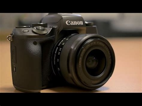 Canon EOS M5 Mirrorless Camera - Hands-on First Look - YouTube