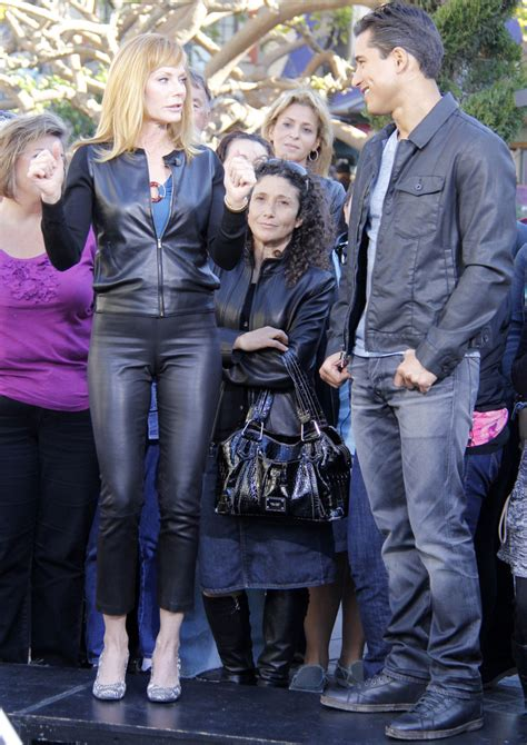 More Pics of Marg Helgenberger Leather Jacket (3 of 11