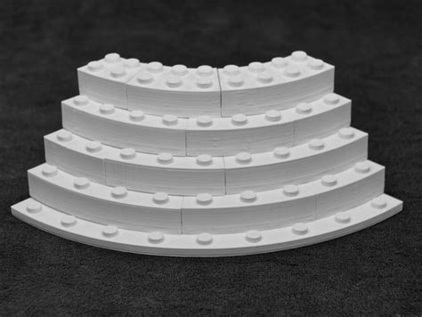 """3D Printing Brings """"Curved"""" Legos into Existence 