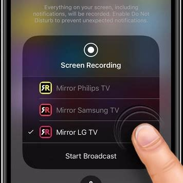 How to mirror an iPhone 7 onto an LG Smart TV - Quora