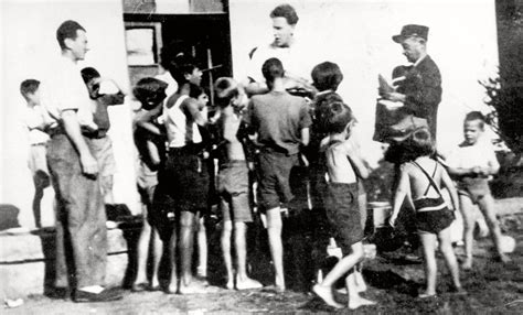 The 44 Jewish children of Izieu arrested on 6 April 1944