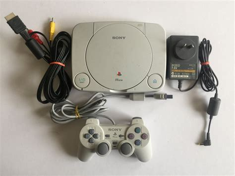 Sony Playstation 1 PSOne Slim Console with Controller