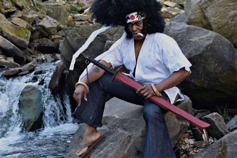Is This Guy's Afro Samurai Cosplay The Greatest Of All