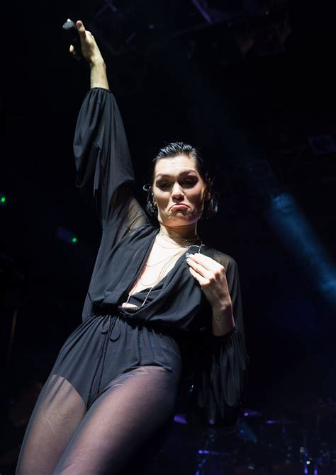 Jessie J - Performing Live on Stage in London