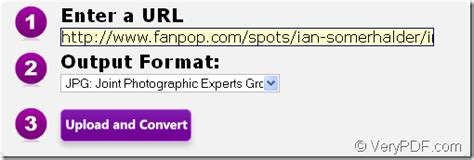 How to convert URL to image (BMP, JPG, PNG, PBM and TIFF