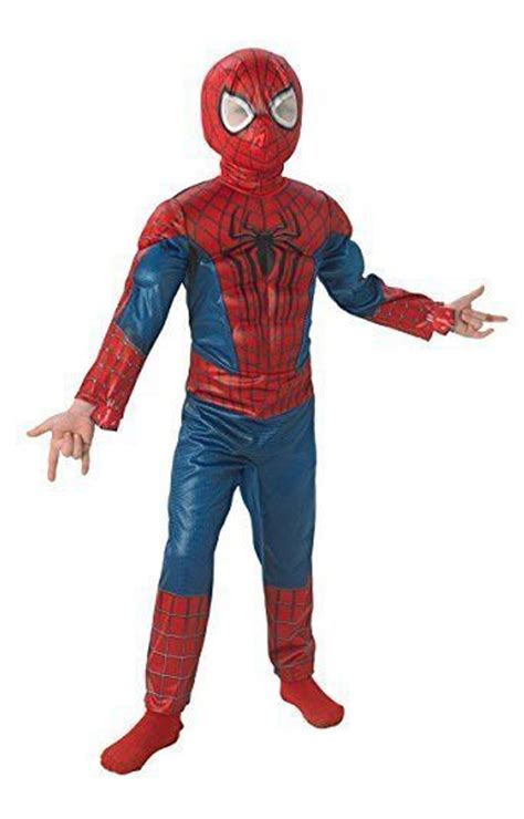 Amazing Spider-Man 2 Deluxe Muscle Chest Spider-Man Child