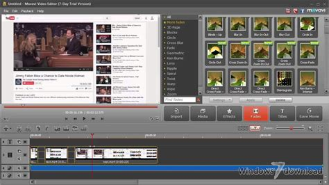 Movavi Video Editor for Windows 7 - Cut, split and join