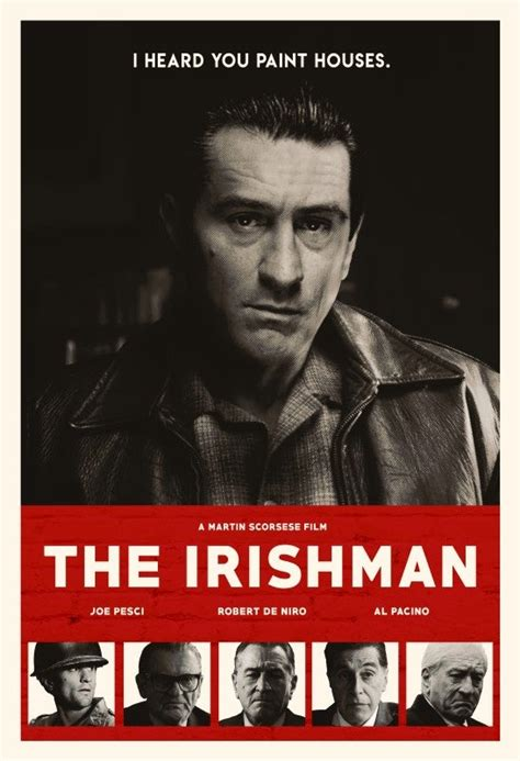 The Irishman Alternative Movie Poster | The Art of ANDREW