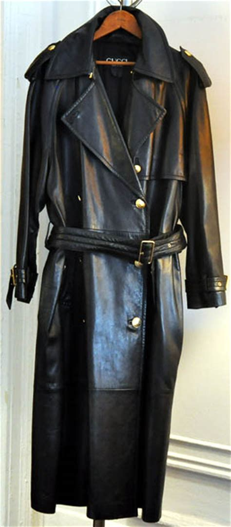 eBay Leather: My fantasy leather trench coat