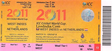 Cricket World Cup Final Tickets Price Soars High