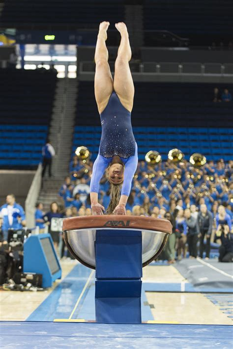 UCLA women's gymnastics keeps focus heading into tri-meet